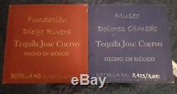 Jose cuervo reserva de la familia tequila frida kahlo, diego rivera no rolling