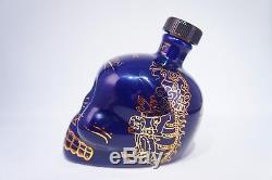 KAH Tequila Los Ultimos Dias Limited Edition Blue Gold Ceramic Bottle 750 ml