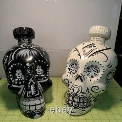 Kah Tequila Skulls Store Displays Hand Painted & Numbered to 250 Artist Signed