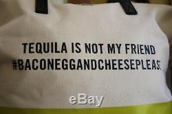 Kate Spade Tequila Is Not My Friend Tote Handbag Call To Action Bag SO FUN