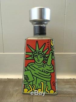 Keith Haring Artist Series 1800 Tequila / 3 Bottle Limited Editon Set