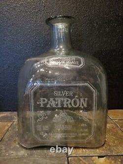 LARGEST! Patron Tequila Bottle Ever Made Limited Edition withOrig Box RARE 15L
