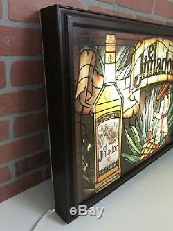 Large Vintage El Jimador Tequila Bar Light Beer Sign Man Cave 26x20 RARE Collect