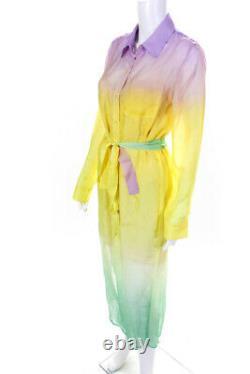 Le Superbe Womens Silk Tequila Sunrise Girlfirend Dress Sunrise Chiffon Size 6