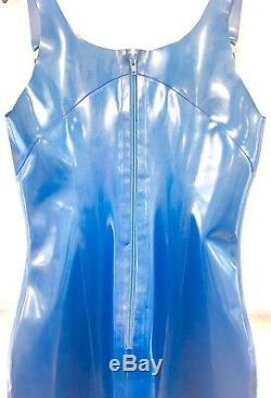 Libidex Tequila Dress Metallic Blue Fetish/Gummi/Latex