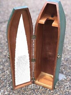Limited 1942 Don Julio Tequila Wooden Casket. Rare Box. Excellent Condition