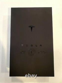 Limited Edition Collectible! Tesla Tequila Empty Bottle + Stand + Box