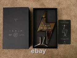 Limited Edition Tesla Tequila (Empty Bottle And Stand)
