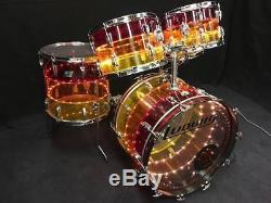 Ludwig Tivoli Tequila Sunrise Drum Kit Super Rare Extra 12 Tom