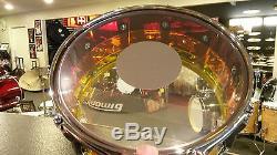 Ludwig Vistalite 6.5x14 Tequila Sunrise Snare Drum