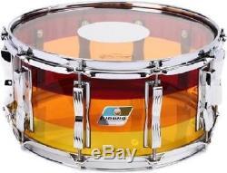 Ludwig Vistalite Series Snare Drum 6.5 x 14 Tequila Sunrise LS903VXXTS