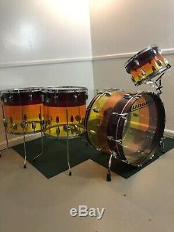 Ludwig Vistalite Tequila Sunrise Limited Edition 2016
