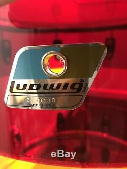 Ludwig Vistalite Tequila Sunrise Limited Edition 2016