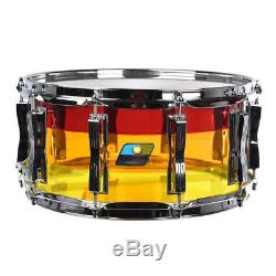 Ludwig Vistalite Tequila Sunrise Limited Edition 6.5x14 Snare Drum- LS903VXXTS