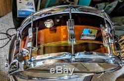 Ludwig drum set vintage Vistlite Tequila Sunrise 1979 9pc s