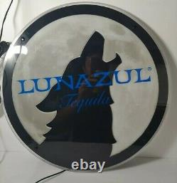 Lunazul Tequila Led Light Wall Hanging For Man Cave. Wolf. Promo item