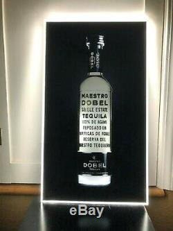 Maestro Dobel Tequila Led Bar Sign Man Cave Garage Light