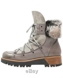 Manas Stiefel Winterschuhe Boots Tequila Fumo Neu Leder OVP Gr. 40 UVP220 ZR270