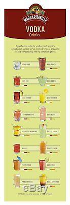Margaritaville Mixed Drink Cocktail Gin Vodka Tequila Maker! BONUS! RARE! LOOK