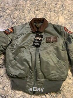 Margaritaville Tequila Mens Jacket Coat Jimmy Buffett Flight Bomber Medium