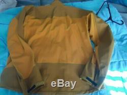 Mens Arc'teryx Alpha Comp Jacket 2003 tequila NWOT! Vintage
