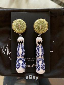 Mignonne Gavigan Tequila and Lime Bottle Earrings