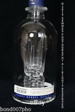 Milagros Reposado Tequila Bottle LTD Numbered HAND blown bottle 750 ml Beautiful