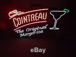 NEON COINTREAU TEQUILA MARGARITA LARGE SIGN 34 Long 24 Tall NEW ORIGINAL