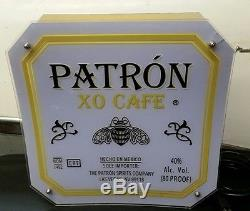 Neon Advertising PATRON TEQUILA XO Cafe Lighted Bar Display Sign Liquor