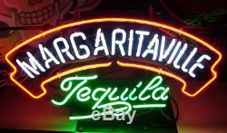 Neon Signs Margaritaville Tequila Beer Bar Pub Party Homeroom Decor 19x15