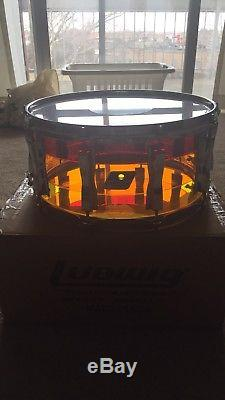 New Ludwig Vistalite Snare Tequila