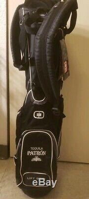 New Ogio golf bag Woode Vaporlite 8 way Tequila Patron Lift grip