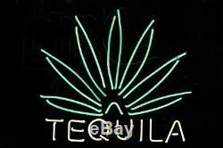 New Tequila Neon Light Sign 20x16 Gift Real Glass Handmade Pub Decor Artwork