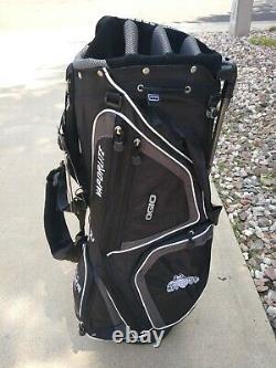 OGIO VAPORLITE Patron Tequila Woodelite Golf Stand Bag Black Vapor Lite NEW
