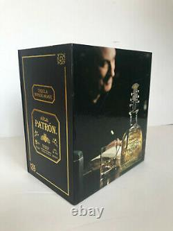 PATRON Añejo Tequila JOHN VARVATOS Limited Edition Guitar Bottle Stopper with Box