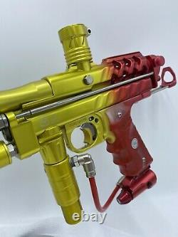 PPS Swiss Cheese Autococker Paintball Marker 1/5 Tequila Sunrise RARE