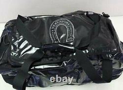 Patagonia Black Hole Duffel Bag 60L Black Herradura Tequila Horseshoe Logo NWT