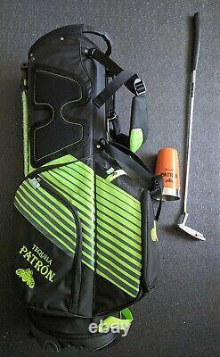 Patron Tequila Callaway Golf Bag Scotty Cameron Putter Drink Shaker Mat