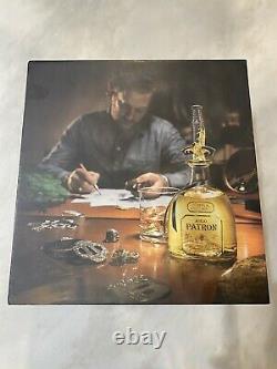 Patron Tequila David Yurman Limited Edition Bottle, Stopper, Box