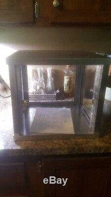 Patron Tequila Display Case With Lock And Key Man cave or store item bar store