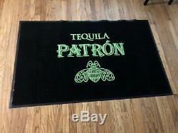 Patron Tequila Floor Mat Rug Matt Man Cave Decor