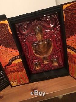 Patron Tequila Guillermo Del Toro Display Box Collectible Unusual Rare Item