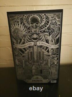 Patron Tequila Guillermo Del Toro Presentation Box Empty withBook No Bottle