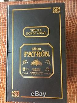 Patron Tequila John Varvatos Ltd Edition Guitar Bottle Stopper with Box & Bottle