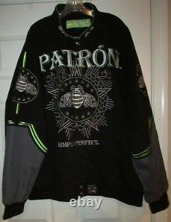 Patron Tequila Silver Collection Jacket by JW Jeff Hamilton Sz 3XL Gorgeous