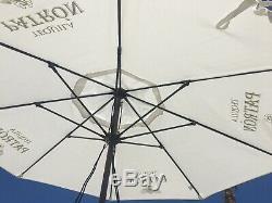 Patron Tequila White Patio Umbrella