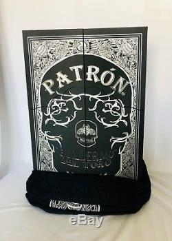 Patron x Guillermo Del Toro Anejo Tequila 750 ml, Book, Full Set, EMPTY BOTTLES