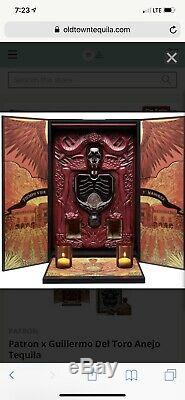 Patron x Guillermo Del Toro Anejo Tequila 750ml & 50ml SOLDOUT! $599 Only 1 Ebay