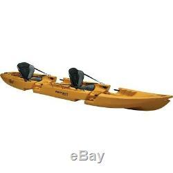 Point 65 Sweden 317514 Tequila GTX Tandem Kayak Yellow
