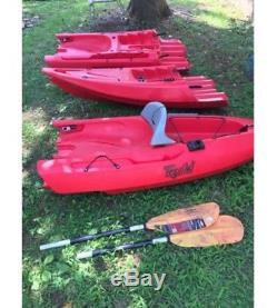 Point 65 Tequila! GTX Tandem Modular Kayak Red